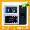 sistema de asistencia de tiempo de reconocimiento facial y huella digital