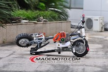 Foldable 2 Stroke Gas Powered Mini 49CC Gas Scooter Stand Up