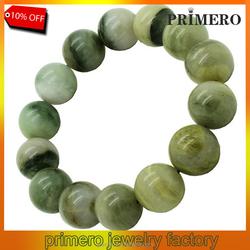 PRIMERO Beads 10mm jade bracelets natural jade bracelet natural gem bracelet Green Phantom identification bracelet