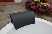 black pu foam bath pillow