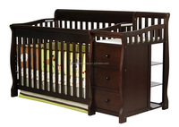 Cheapest 4 in 1 Convertible Crib with Changer