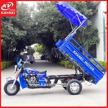 Electric Tricycle For Cargo Made In Guangdong China / Auto Motorized Engine Tricycle Scooter Three Wheelers