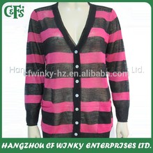 Fashion New Design Womens Fully Fashioned Knitwear