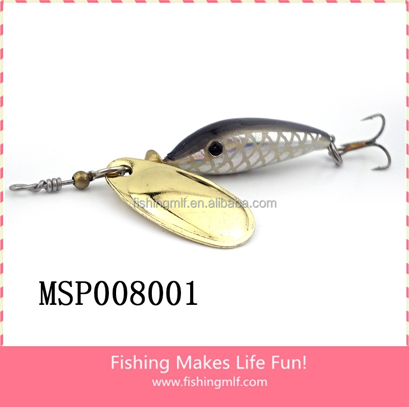Msp008001 5g 9cm wholesale wind spinner fishing spinner for Cheap fishing spinners