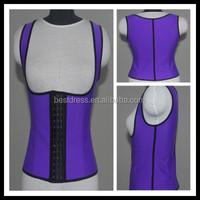 Plus Size Latex Waist Cincher Vest Hot Womens Waist Trainers Stomach Shapers Girdles Waist Training Corset Slimming Body Shaper