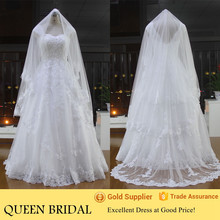 Wholesale Cheap Floor Length Open Back Bride Lace Wedding Dresses China