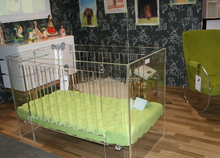 royal baby crib acrylic baby crib with sofa bed