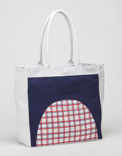 CANVAS FASHION TOTE BEACH BAG