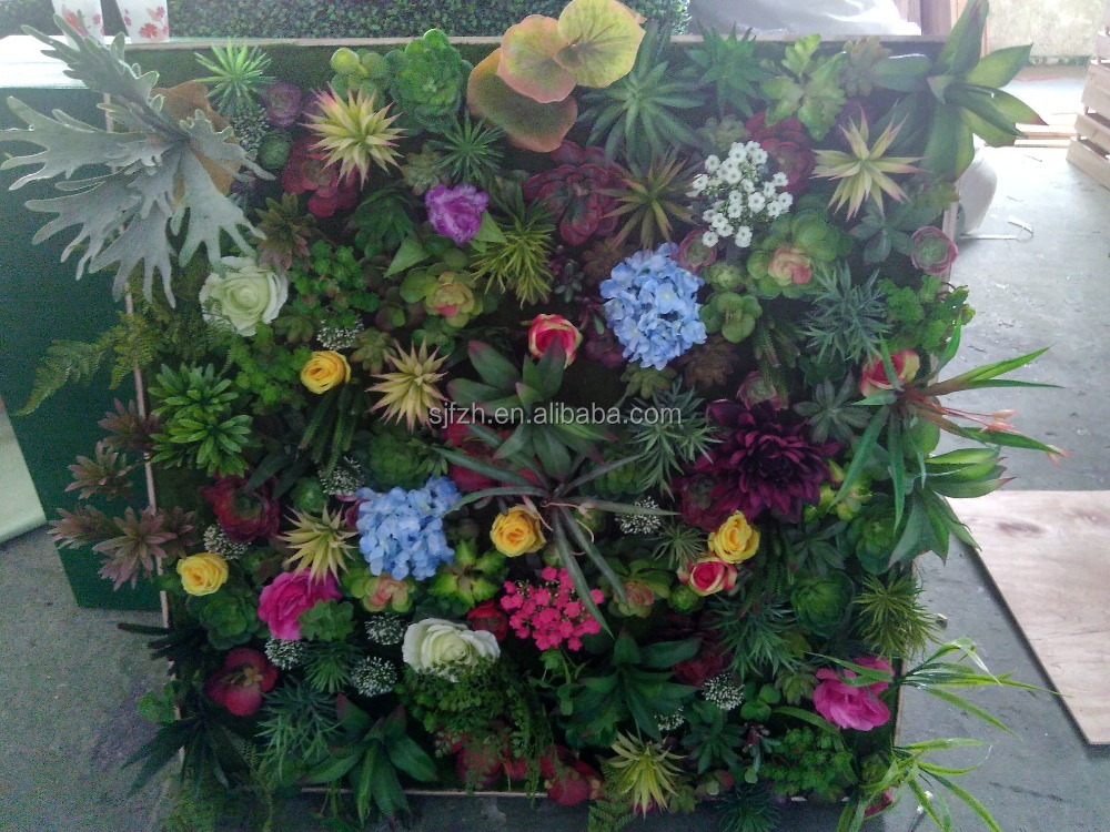 Decoration indoor or outdoor factory artificial plant wall for Artificial plants indoor decoration