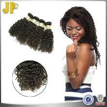 JP Hair 2015 New Arrival 16 Inch Black Short Hair Brazilian Curly Weave