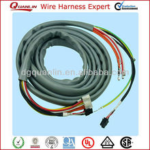 Customed electrical wire/ 0.5mm pitch ffc cable assembly