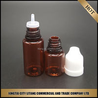 China goods wholesale pet eye dropper bottle water childproof cap for mini olive oil bottle