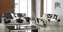 Triumph Real Cow skin leather 1+2+3 sofa set/Modern living room sofa/european design stainless steel frame sofa