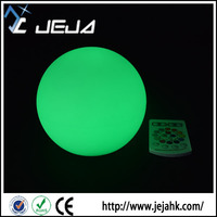 Outdoor decoration multicolor led ball lamp/remote controlled led ball light