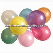Pearlized Latex Balloon 2012 new models