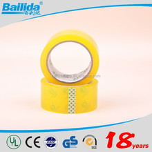 new products 2016 alibaba china supplier high adhesive 50m carton packing bopp tape for wholesale