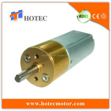 long life low noise 15.5mm gearbox metal gears 12v compact dc gear motor