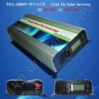 2kw Solar Power System 48V to 220V 230V 240V Grid Tie Inverter 2000w for Sale