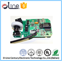 ISO9001 UL94v0 1.0t HAL wireless oem computer mouse pcb circuit board