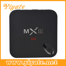 MXIII 2.4G Audio Air Mouse Wireless Mini Keyboard Infrared Remote Control