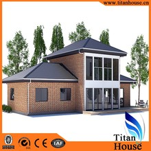Economical Modern Design Light Gauge Steel Frame Prefabricated Residential House