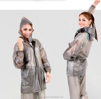 Raincoats Type and Polyester, pvc Material plastic transparent rain pant