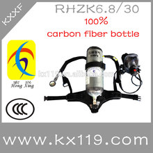 Ccc aprobadofunciones rhzk6.8l/30 mpa de certificación de calidad portátil de un aparato de respiración