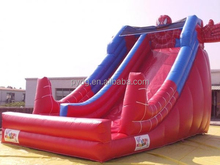 Used Commercial Giant Spiderman Inflatable Slide
