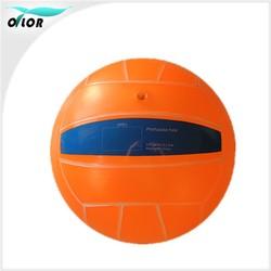 8 inch orange toy bouncing custom pvc volleyball ball