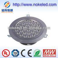 36X1W Ultra-thin ce lampu downlight harga