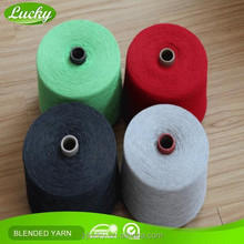 Manufactory Grade A knitting&weaving dyed open end yarn