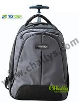 High quality waterproof laptop trolley backpack