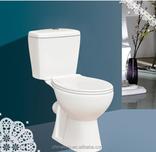High Quality Toilet Washdown Two Piece Toilet Bowl With Cheap Price For Sales