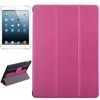 Hot Products Silk Texture Leather for iPad Air Cover Case with Hand Strap