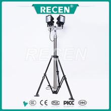 Ajustáveis rotativos luz portátil lâmpada de tungstênio de iodo 4 * 500 W luz de trabalho móvel torre