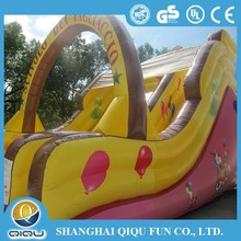 Brand new style inflatable clown dry slide for sale