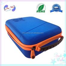 Cyan Outdoor dirtproof EVA camera case for gopro, protective gopro camera housing / bag / box / kit