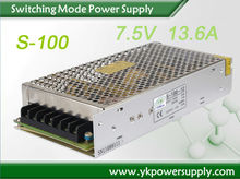 Yucoo 12V 80W Constant Voltage 6.6A LED Power Supply