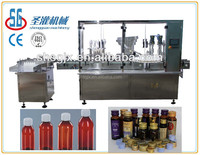SGGX-Automatic glass bottle oral liquid ,medication syrup filling capping machine