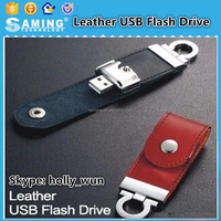 High quality U Disk 32GB 64GB 8GB 4GB Leather USB Flash Drive Pendrive 16GB Memory stick Pen Drive pen drive