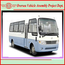 Commercial vehicles coaster mini bus with lowest price