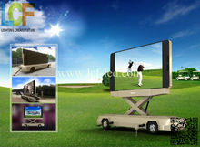p10 outdoor full color electronic mobile truck LED