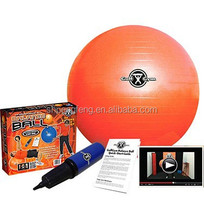 Anti Burst Exercise Yoga Ball with Pump