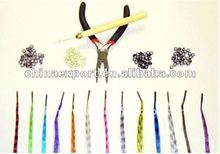 i-tip Synthetic Feather Hair Extension in Different Colors