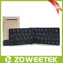 Wireless Bluetooth Foldable Keyboard for Tablet, SmartPhone, PC