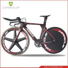 MIRACLE MC095 carbon TT bikes,2016 new design triathlon bicycle fit disc wheels,new time trial bikes carbon frame 49 52 54 56cm