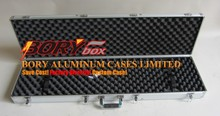 "wholesale custom plastic ABS hard box aluminum rifle case 47"" gun case"