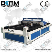 New type non metal and metal laser cutting machine clothes bcj2513 with high quality