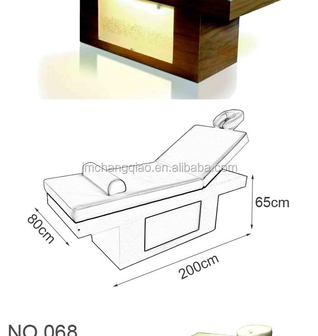Moderne spa meubles table de massage en bois 068 set - Meuble tv grande taille ...