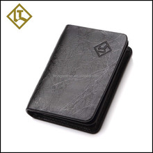 China cheap business card holder leather name card holder business card clip holder
